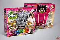Набор креативного творчества danko toys cОВ-01-04 my color bag сумка раскраска