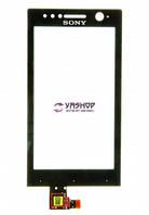 Сенсор (тачскрин) Sony ST25i Xperia U черный
