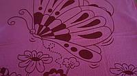 Рушники  Метелики  (мікрофібра) 50х100