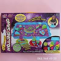 Песок для творчества с блестками Кондитерская коробка 32-64-6 см