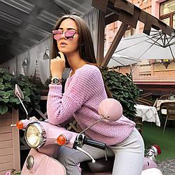 """Свитер модный вязаный женский ТМ """"S&T"""" осень-зима 2017/2018"""