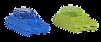 """Точилка с контейнером """"Танк"""" и 2-я отверстиями, блистер zb.5581"""
