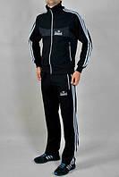 Спортивный костюм Adidas, черный костюм с лампасами, R2962