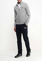 Спортивный костюм Armani, серый верх, черный низ, R3007