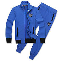 Спортивный костюм Armani, голубой костюм, R3008