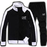 Зимний спортивный костюм, теплый костюм Armani, черный костюм, R3017