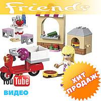 """Конструктор лего френдс Bela Friends 10535 """"Пиццерия Стефани"""" (аналог LEGO Friends 41092), 90 дет"""
