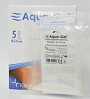 Гидрогелевая повязка AQUA-GEL, квадрат 10х12 см (KiKgеl, Польша)