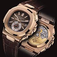 Часы PATEK PHILIPPE NAUTILUS 5980 rose gold, механические мужские