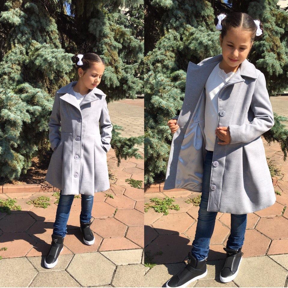 Детское пальто на пуговицах осень 2017!! разные цвета. - Циклон в Одесской области
