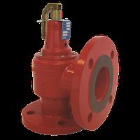 Предохранительный клапан DN 65х80, 5бар (фланец)  AFRISO