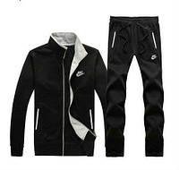 Зимний спортивный костюм, теплый костюм Nike, черный, R3194
