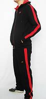 Спортивный костюм Nike, черный со змейкой, R3222