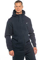 Зимний спортивный костюм, теплый костюм Nike, черный, Кенгуру, толстовка, R3234