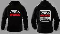 Зимний спортивный костюм, теплый костюм Bad Boy, черный, Кенгуру, толстовка, R3295