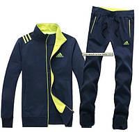 Спортивный костюм Adidas, темно-синий костюм, с325