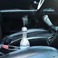 Портативный мини увлажнитель воздуха для дома и автомобиля с ночником Кегля