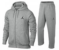 Спортивный костюм Jordan, серый, со змейкой, R3311