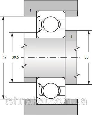 подшипник 6205-2Z ZKL