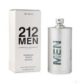 Мужская парфюмерия тестер Carolina Herrera 212 Men 100 ml Tester