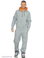 Зимний спортивный костюм, теплый костюм Nike серый, R3345