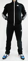 Спортивный костюм Adidas, ченый костюм, с лампасами, с2930