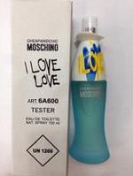 Тестеры парфюма Moschino Cheap And Chic I Love Love Wom 100 ml