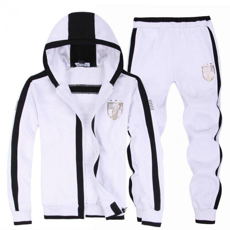 Спортивный костюм Armani, белый костюм, с капюшоном, с2995 - Интернет - магазин спортивной одежды SPORT+. С Доставкой по Украине. в Киеве