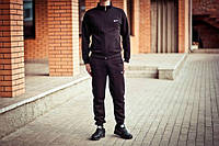 Зимний спортивный костюм, теплый костюм Nike, черный, R3421