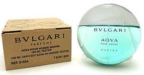 Мужские тестеры духов Bvlgari Aqva 100 ml
