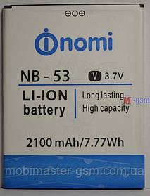 Батарея Nomi i502 (NB-53) 2100mAh