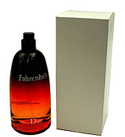 Мужские тестеры духов Christian Dior Fahrenheit туалетная вода 100 ml (Тестер Диор Фаренгейт)