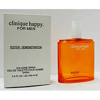 Мужские тестеры духов Clinique Happy 100 ml
