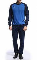 Спортивный костюм Umbro, синие туловище, темно-синие рукава и штаны, R3442