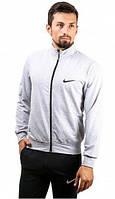 Зимний спортивный костюм , костюм на флисе Nike белая коста, черные штаны, с3043
