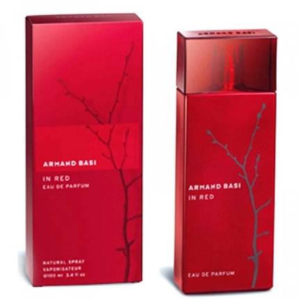 Armand Basi In Red Parfum 100 ml   Женская парфюмированная вода реплика, фото 2