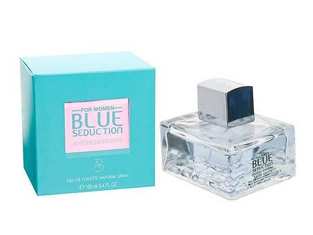 Женская парфюмерия Antonio Banderas Blue Seduction 100 ml реплика, фото 2