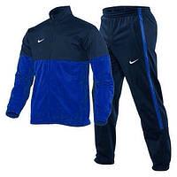 Зимний спортивный костюм , костюм на флисе Nike, темно-синий, с3119