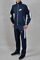 Зимний спортивный костюм , костюм на флисе Nike, темно-синий, с3143