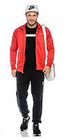Спортивный костюм Nike, красный с черными штанами, с3162
