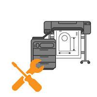 Ремонт и настройка печатной техники