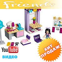 Конструктор лего френдс BELA Friends 10553 Творческая мастерская Эммы (аналог LEGO Friends 41115) 110 дет