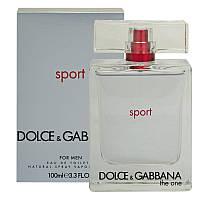 Мужская парфюмерия Dolce Gabbana The One Sport 100 ml