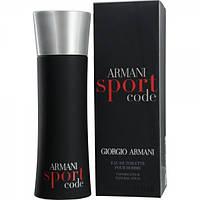 Мужская парфюмерия Giorgio Armani Black Code Sport 125 ml
