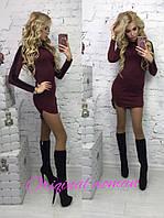 Облегающее короткое платье в расцветках y-203108