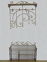 Кованый набор мебели в прихожую  - 021-2, фото 1