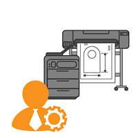 Обслуживание печатной техники
