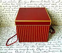 Декоративна коробка для квітів W9457, 19*19*17 Декоративная коробка для цветов
