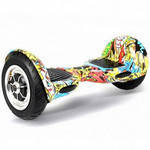 "Гироборд Smart Balance Wheel 10.0"" (Тао-Тао, Самобаланс) Хип-Хоп Желтый"