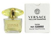 Тестер женская туалетная вода Versace Bright Cristal Yellow Diamonds 90 мл